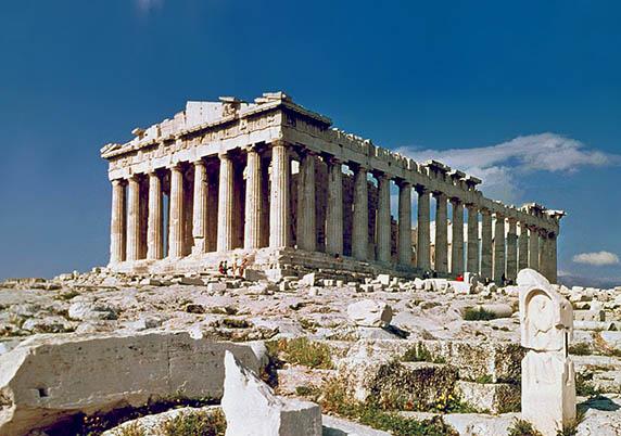 Prépa HEC héritage pensée grecque et latine Parthénon