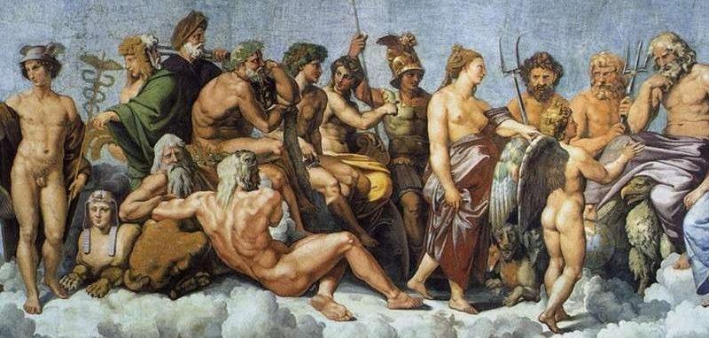 Prépa HEC héritage pensée grecque et latine Olympe dieux
