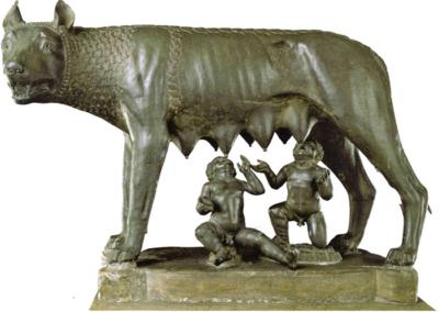 Prépa HEC héritage de la pensée grecque et latine Romulus Rémus louve
