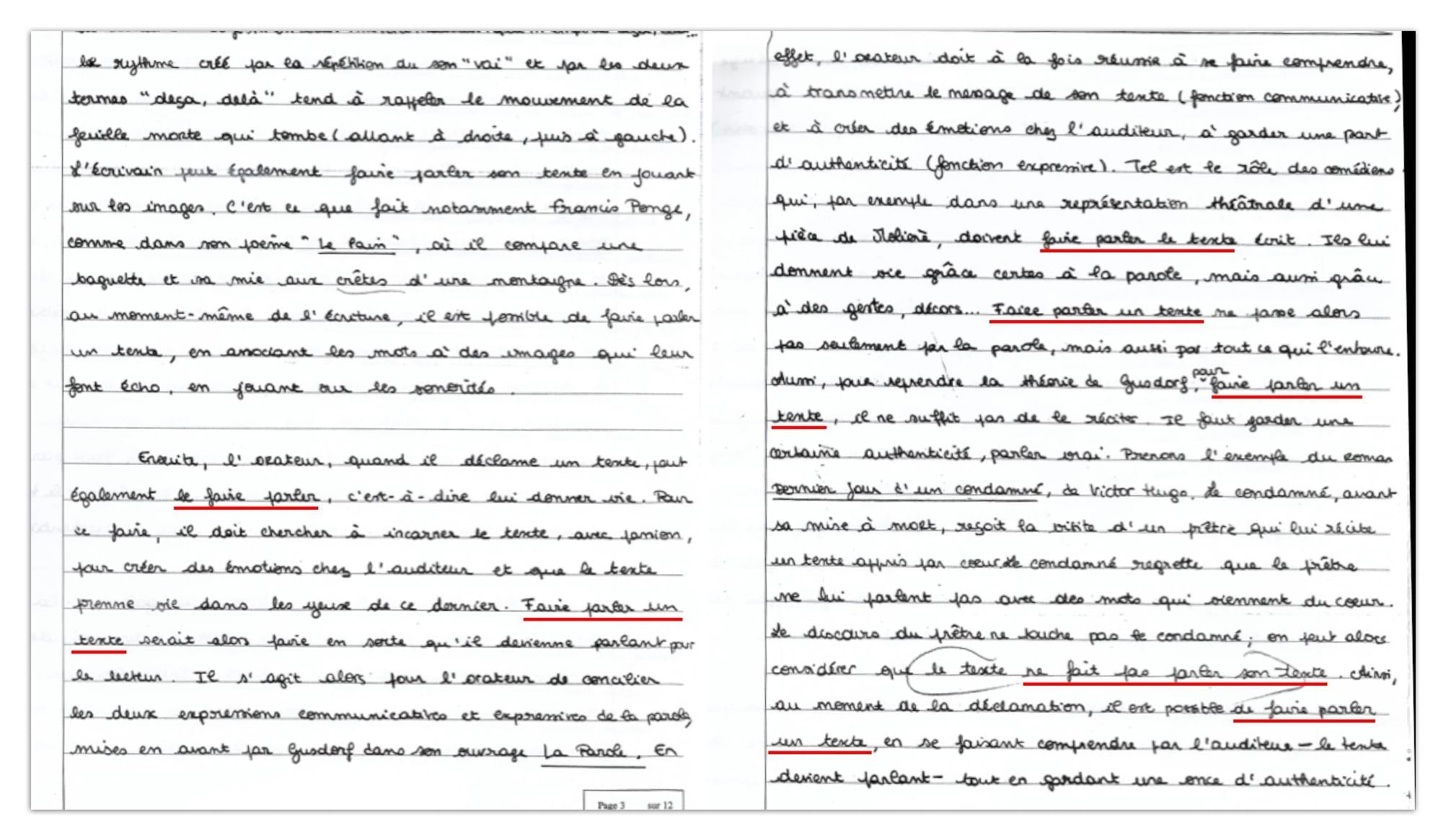 Commentaire D Une Dissertation Notee 17 20 A Hec La Culture Generale En Prepa Hec